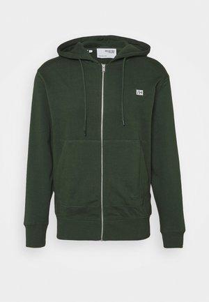 SLHCOREY HOOD ZIP - veste en sweat zippée - sycamore