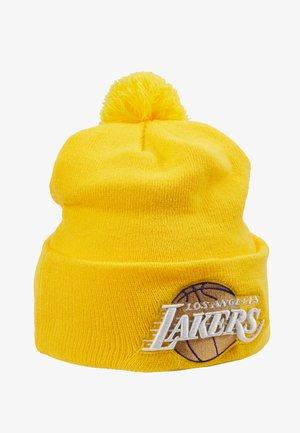 NBA LA LAKERS ALTERNATE CITY SERIES - Čepice - yellow