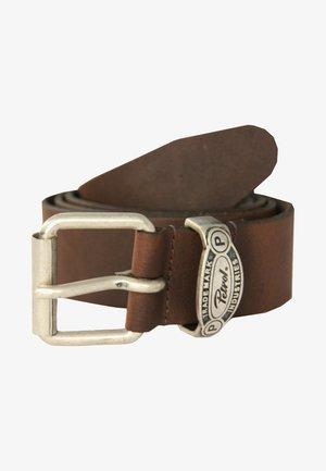 MIT SCHICKER MARKENGRAVUR - Belt - brown
