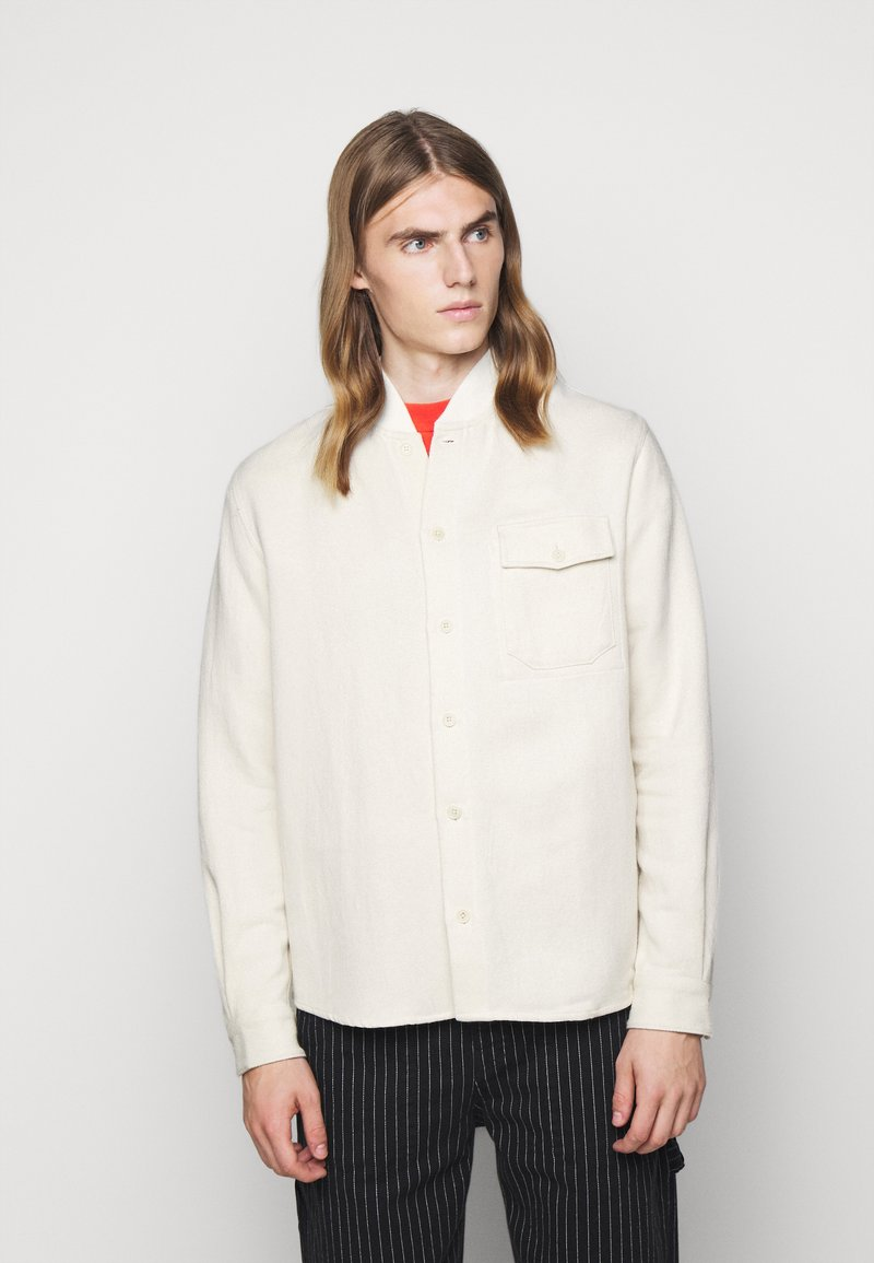 YMC You Must Create - DELINQUENTS COLLAR - Košile - white