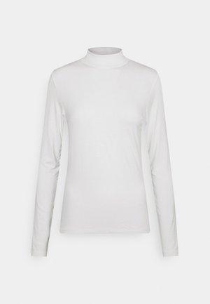 PCNEORA NECK  - Long sleeved top - cloud dancer