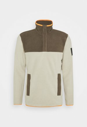 FLASH - Fleece jumper - beige