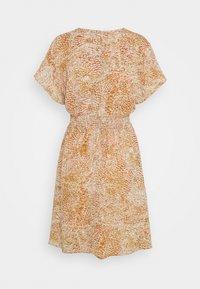 Object Petite - OBJBILLACA DRESS - Korte jurk - cloud dancer/multi colour - 1