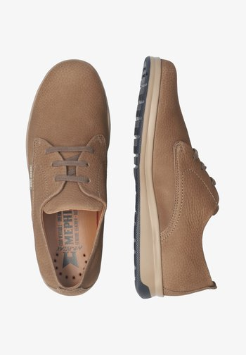 Casual lace-ups - dark taupe