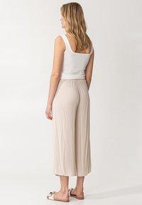 Indiska - ELSIE  - Trousers - beige - 2