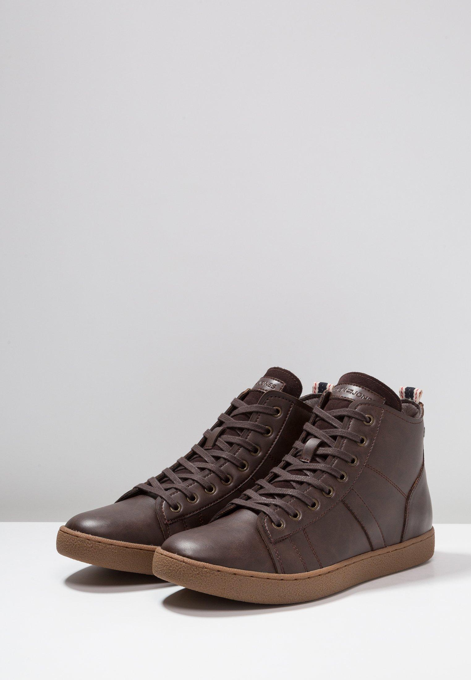 Jack  Jones JFWSTEWART - Sneaker high - java/dunkelbraun - Herrenschuhe bIipe
