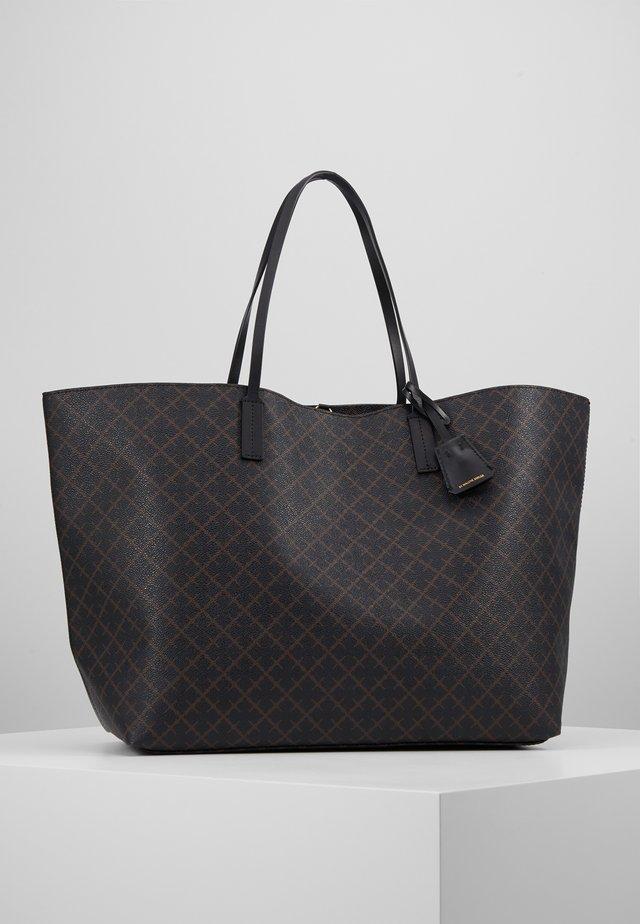 ABI TOTE - Shopping bag - dark chokolate