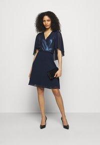 Lauren Ralph Lauren - GRACEFUL DRESS - Cocktail dress / Party dress - lighthouse navy - 1