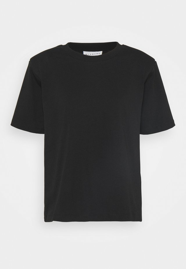 MAINTAIN - T-shirt basic - black
