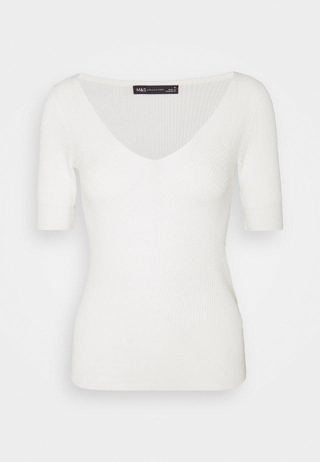 VEE - T-shirt basic - off-white