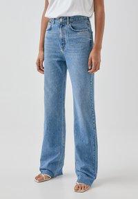 PULL&BEAR - Džíny Straight Fit - blue - 0