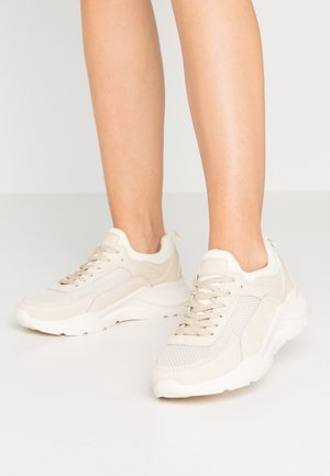 LEATHER - Zapatillas - beige
