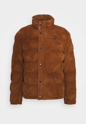 CAPO SPALLA IMBOTTITO - Veste en cuir - cognac/ light brown