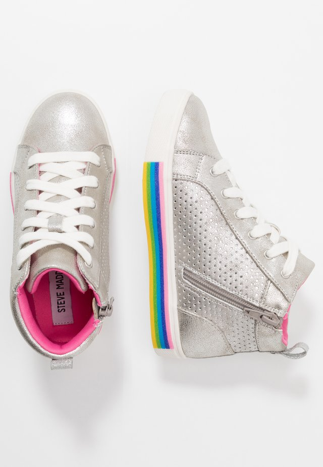 JGROOVE - High-top trainers - silver