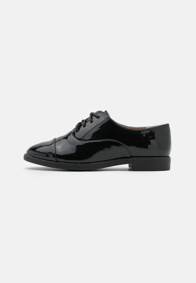 LANGLEY BLING RAND LACE UP - Lace-ups - black