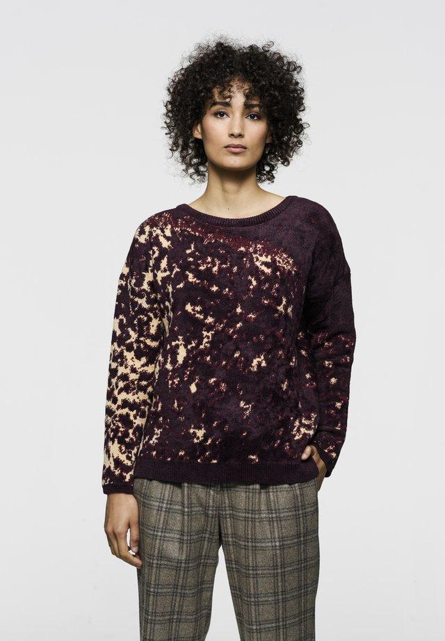 AIKO BLUR - Pullover - plum