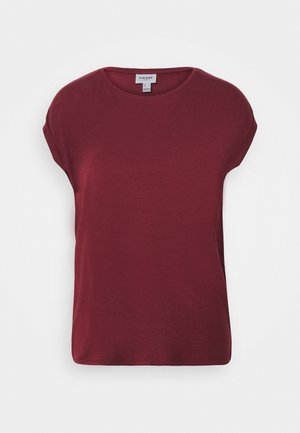 VMAVA PLAIN - T-shirt basic - cabernet