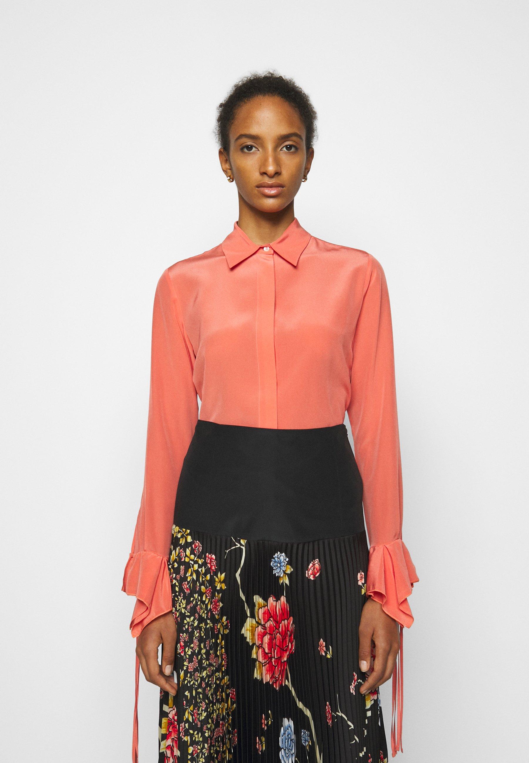 Women FLOUNCE CUFF SHIRT - Button-down blouse