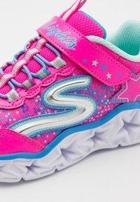 Skechers - GALAXY LIGHTS - Tenisky - neon/pink/multicolor - 5