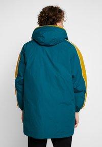 Obey Clothing - MAJOR STADIUM JACKET - Parka - deep teal - 2