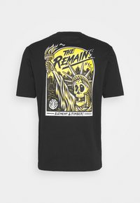 Element - LIBERTY  - Print T-shirt - flint black - 0