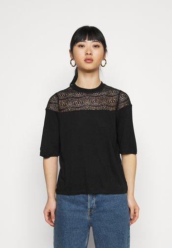ONLBESSIE LIFE  - T-shirts - black