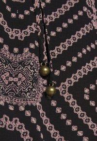 Free People - SEVEN WONDERS MINI - Day dress - black combo - 6
