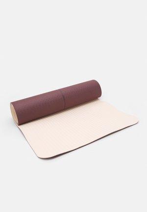 YOGA MAT POSITION 4MM - Fitness / Yoga - mahagony red/beige