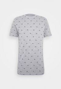 Pier One - Print T-shirt - mottled grey - 3