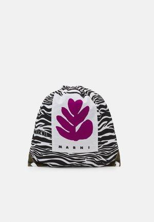 BORSA UNISEX - Drawstring sports bag - black