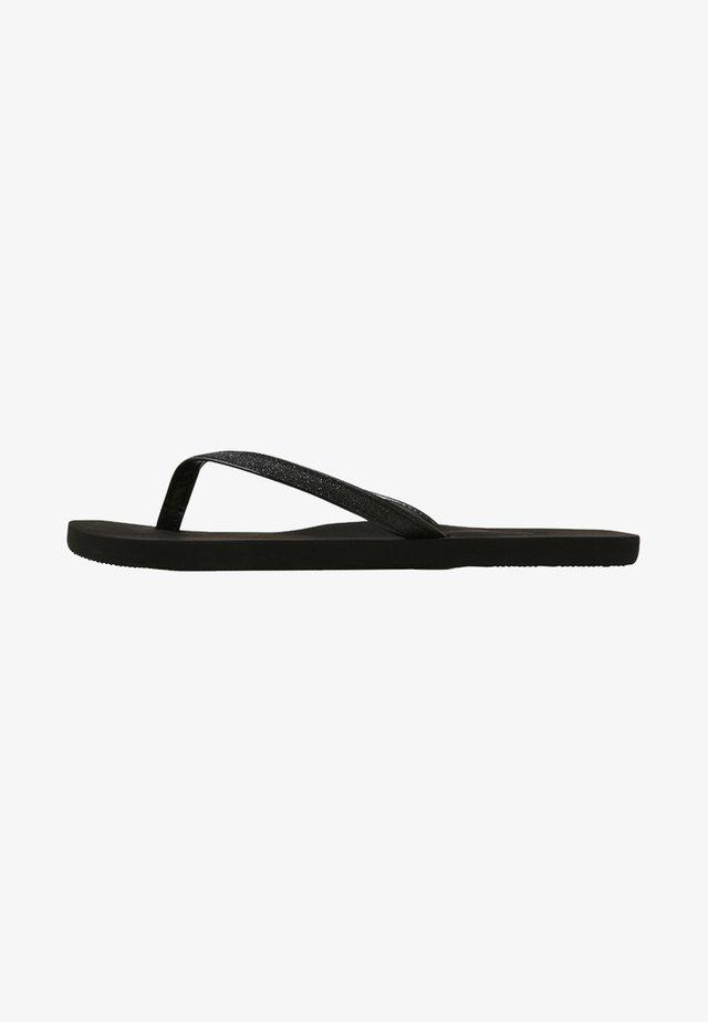 NAPILI - Sandalias de dedo - black
