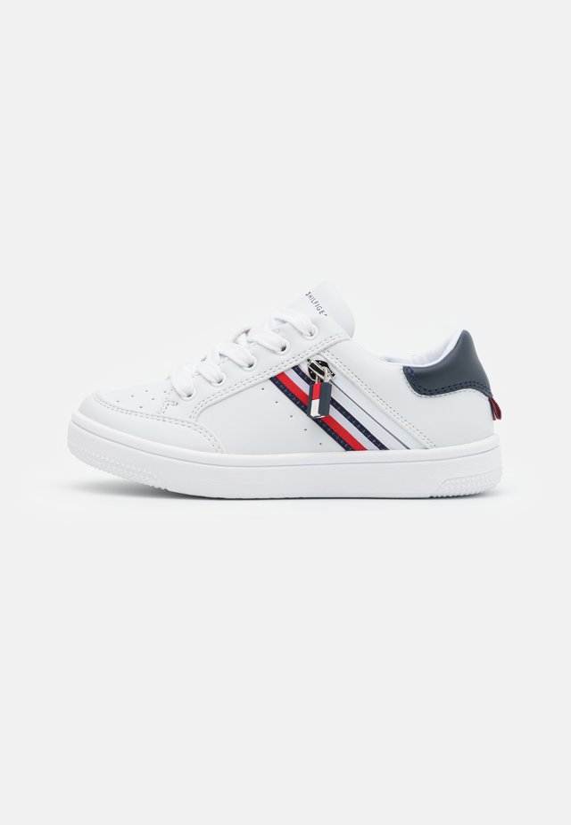 Sneakers - white/blue