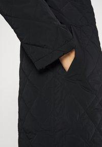 Lindex - COAT ANDIE QUILT - Klasický kabát - black - 5