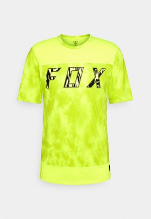 RANGER ELEVATED - Print T-shirt - neon yellow