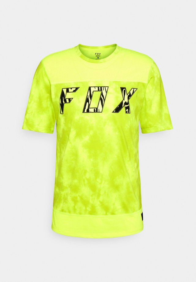 RANGER ELEVATED - Printtipaita - neon yellow