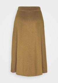 Object - OBJSAVA SKIRT SEASONAL - A-line skirt - tapenade - 1