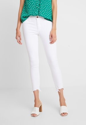 CHEWY HEM ANKLE - Jeans Skinny Fit - white classic