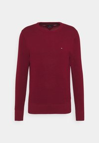 Tommy Hilfiger - CREW NECK - Neule - rouge - 4