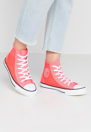 CHUCK TAYLOR - Baskets montantes - racer pink/white/black