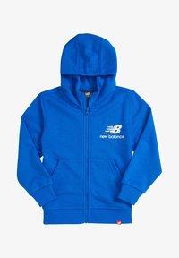 New Balance - YOUTH ESSENTIALS  - Zip-up hoodie - vivid cobalt - 0