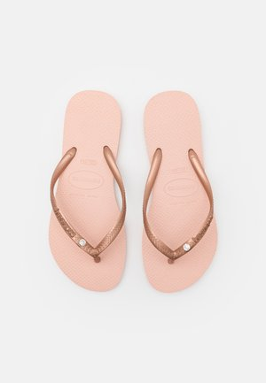 HAV. SLIM CRYSTAL SWAROVSKI - Pool shoes - ballet rose