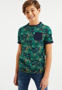 WE Fashion - MET BLADERENDESSIN - T-shirt print - multi-coloured - 1