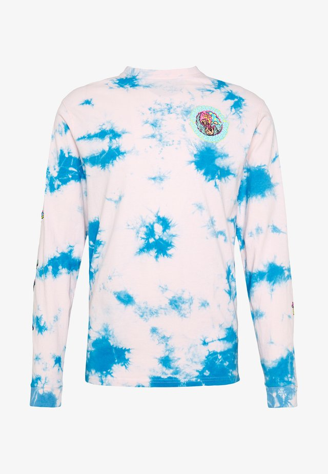 UNISEX SMOKE SIGNAL LONG SLEEVE - Long sleeved top - pink/blue