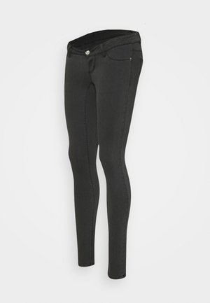PCMDELLA - Jeans Skinny Fit - dark grey denim