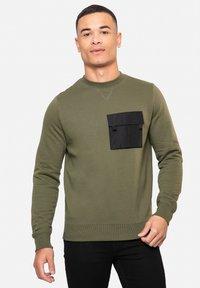 Threadbare - FIN - Sweatshirt - khaki - 0