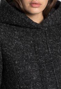 ONLY - Klasický kabát - black/melange - 4