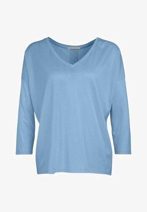 VENJA - Long sleeved top - blue