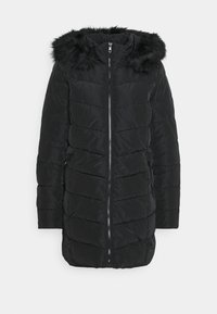 ONLY - ONLNEWMINEA QUILTED HOOD COAT - Parka - black - 5