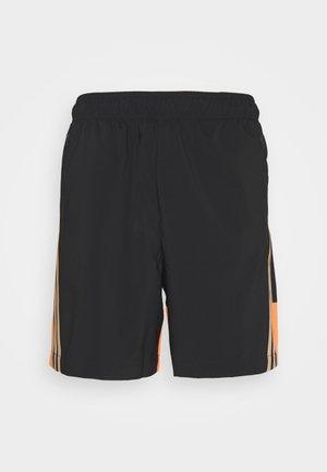 SHORT - Pantalón corto de deporte - black/scrora