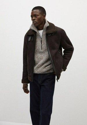 BRENTA - Light jacket - chocoladebruin